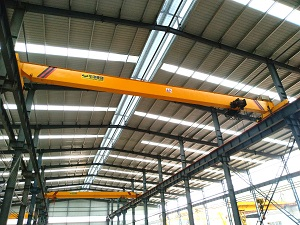 HD model single girder bridge crane