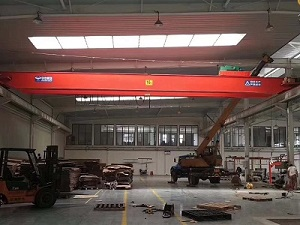 LH model double beam bridge crane