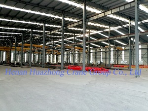 Manufacture warehouse of Huazhong Group